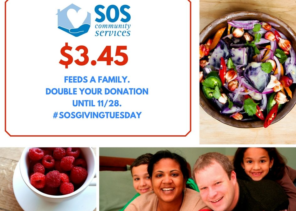 Support SOS for Giving Tuesday!